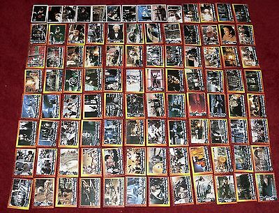 Vintage Batman Returns Topps Trading Collector Cards 1992 Complete With Stickers