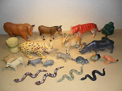 COLLECTION OF ZOO AND FARM ANIMALS (Wildlife)