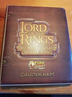 Lord of the Rings card collection
