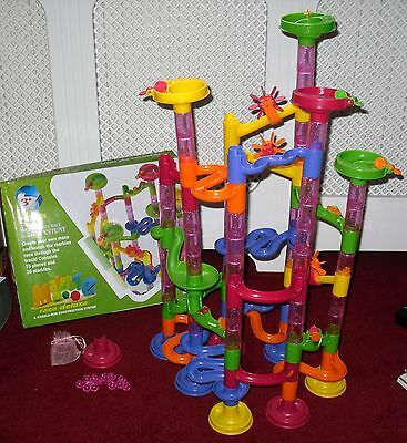 Super Marble Deluxe By XSTUNT Marble Run Construction System - Boxed