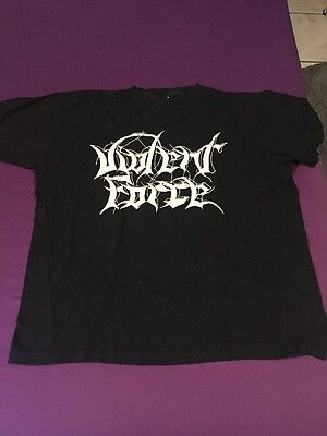 Violent Force shirt Vintage Thrashmetal T-shirt Sodom Darkness Kreator Slayer