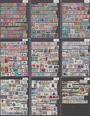 Germany postage collection Reich and Bund, mint & used, 500 different, 9 pages