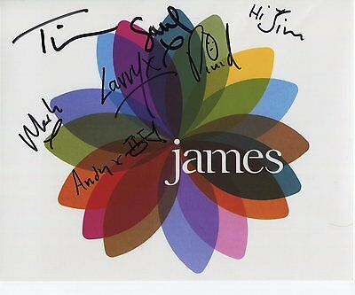 "James (Band) Tim Booth FULLY  Signed Autographed 8x10"" Photo"