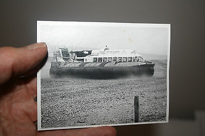 hovercraft on the beach at IOW Isle of Wight original photograph  100/80mm a n