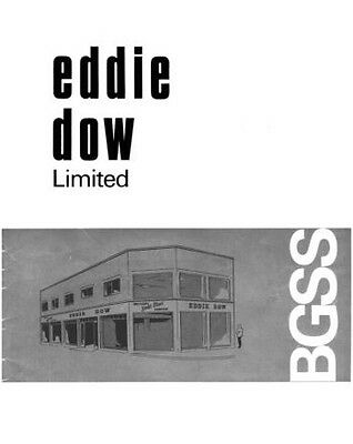 Eddie Dow Gold Star Catalogue and Parts List