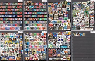 Great Britain (United Kingdom)  large postage collection all different, 8 img.