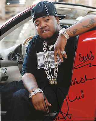 "Twista Kanye West, Jay-Z, Nas  Signed Autographed 8x10"" Photo"