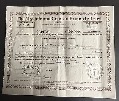 The Mayfair and General Property Trust