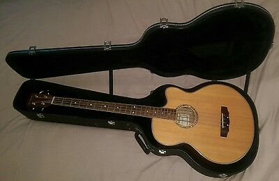 Fleetwood Electro Acoustic Bass Guitar With Hard Case