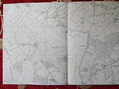 English Aviation History, map cuts of AIRFIELDS  SIBLE HEDDINGHAM