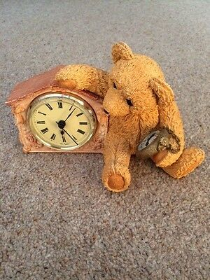 Country Artists Paw Prints Beau Bears Clock