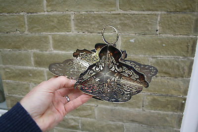 ART DECO STYLE plated Serving dish high teas wedding table A REALLY NICE EXAMPLE
