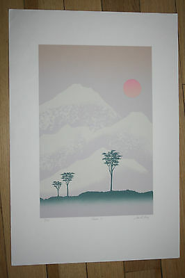 CHINA I  SCREENPRINT LIMITED EDITION   VINTAGE ex Seeger Archive