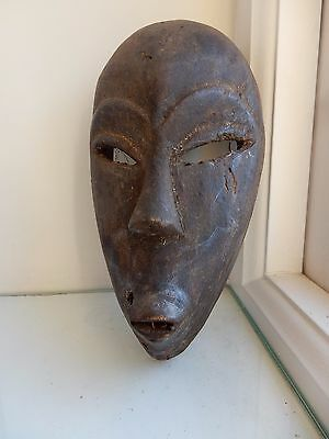 AFRICAN TRIBAL mask 20TH c  ex Country house Ethnographic Collection kk2 alien