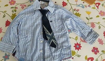boys next shirt and tie set age 18-24 months