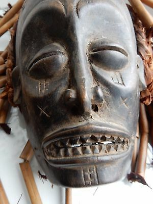 AFRICAN TRIBAL MASK  19TH / 20TH c   Ex Country house Ethnographic Collection b