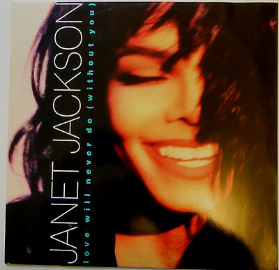 "12"" De**janet Jackson - Love Will Never Do (Without You) (A&m Rec. '90)***20602"