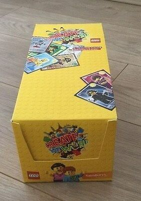 "Almost full box of ""Lego Create The World"" 290 + Unopened Packs"
