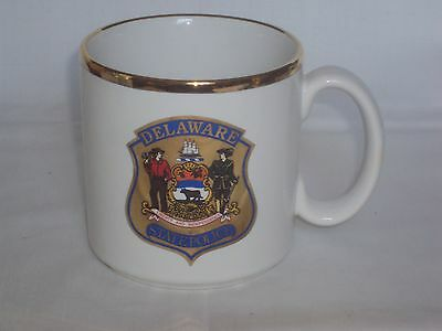 Delaware State Police ~ Colonels Office ~ Coffee Mug ~ MINT CONDITION ~ RARE