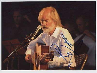 "Roy Harper   Signed Autographed 8x10"" Photo"