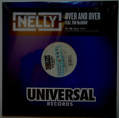 "12"" Us**nelly Feat. Tim Mcgraw - Over And Over (Universal '05 / Sealed)***18710"