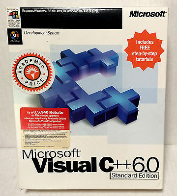 Microsoft Visual C++ Standard Edition With Service Pack 3 NICE