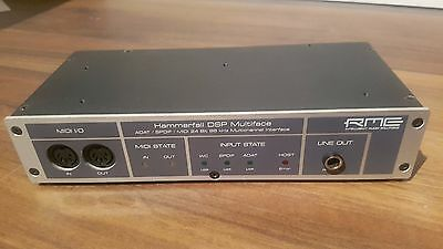 RME HDSP Multiface V1 High-End Audio Interface Hammerfall DSP Top Zustand