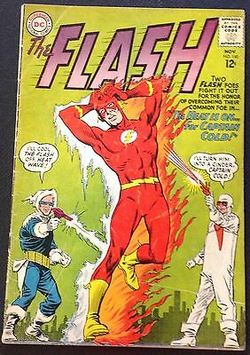 The Flash #140 (Nov 1963, DC) Origin. 1st App. Heat Wave
