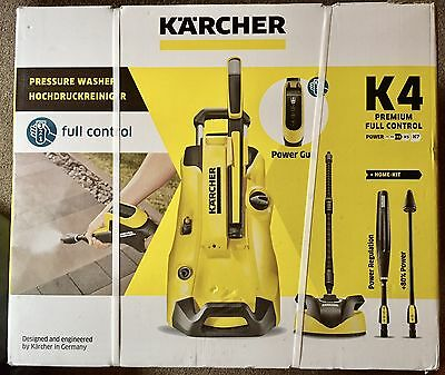 karcher k4 premium full control home pressure washer picclick uk. Black Bedroom Furniture Sets. Home Design Ideas