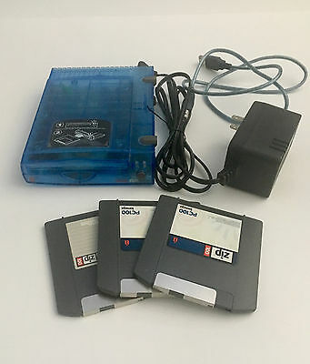 Zip Drive 100 Usb with 3 Disks