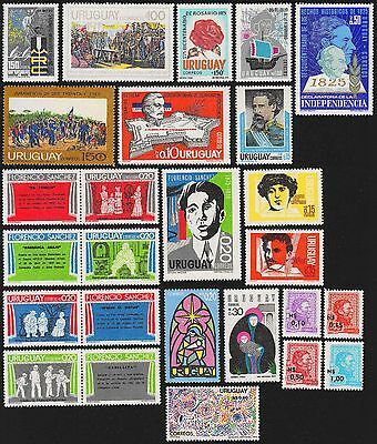 URUGUAY Scott 908//932 MNH - 1975 - 11 Issues
