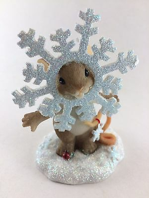Enesco Charming Tails There's Snow One Like You Christmas Mice