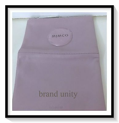 Mimco Leather MIM PETITE FOLD WALLET PURSE Brand New Lilac