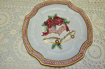 Fitz and Floyd Essentials Christmas Decor Bell Plate