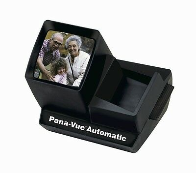 Slide Viewer Pana-Vue Panaview Automatic Lighted 35Mm Big View New Fpa005