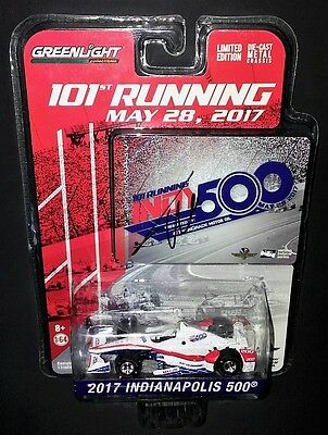 FERNANDO ALONSO SIGNED 2017 101st RUNNING INDIANAPOLIS INDY 500 INDYCAR DIE CAST