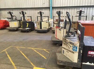 Ride On Electric Pallet Lifter