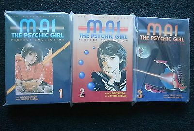 Mai the psychic girl -perfect collection vol 1-3