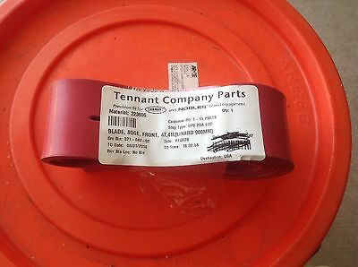 Tennant OEMFRONT SQUEEGEE BLADE ASSEMBLY PART NUMBER  - TN-222606