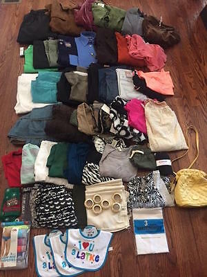 Mixed Lot Of Clothe Clothing Women Mens Kids Children + Nwt Nwot Great 4 Resale