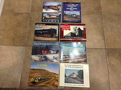Lot of 8 paperback Train Books
