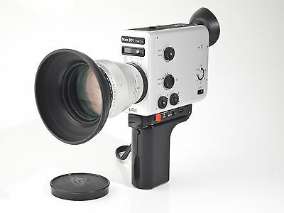 Nizo 801 Macro -  Super 8 Movie Camera - 1.8 / 7-80mm lens - tested - exc.++