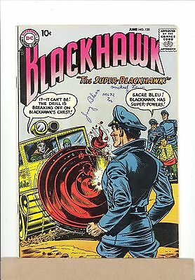 1958 DC Comics BLACKHAWK #125 Silver Age combined shipping