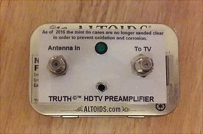 The TRUTH AMP - UHF VHF HDTV Digital TV Antenna Signal Booster Amplifier