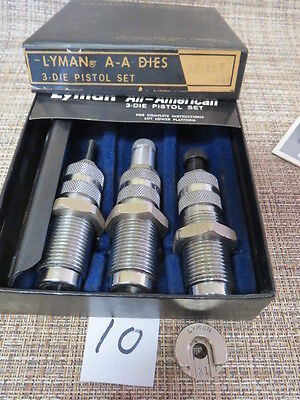 Lyman A-A 3 Die Set for 38/357 Reloading