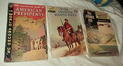 world around us classics illustrated 3 issue comics lot run set collection