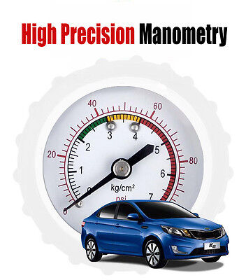 New 0-100PSI Tyre Tire Air Pressure Gauge Meter Tester Car Truck Motorcycle Bike