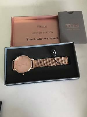 The 5th Fifth Watch Melbourne Class Act New Rose Gold Limited Edition of 100 DW