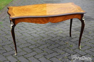 Antique Retro Vintage French Style Rosewood Kingwood coffee table 1950's period