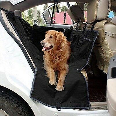 Poppypet Rear Seat Protector Cover, Waterproof Hammock for Pets, dog guard